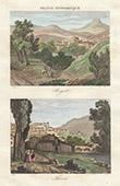 View of Royat - View of Thiers - Auvergne (Puy-de-D�me - France)
