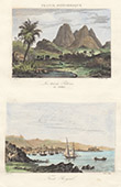Carbet Mountains - View of Fort-de-France (Martinique - France)