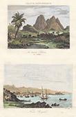 Pitons du Carbet - Ansicht von Fort-de-France (Martinique - Frankreich)
