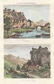 View of Sisteron - Digne (Alpes-de-Haute-Provence - France)