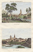 View of Lamballe - View of Guingamp - Brittany (C�tes-du-Nord - C�tes-d'Armor - France)