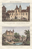 Palace Jacques-C�ur in Bourges - Culan castle (Cher - France)