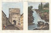 Le Saut du Doubs - Porte Noire in Besan�on (Doubs - France)
