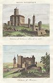 Aubusson Castle - Ruins - Boussac castle (Creuse - France)