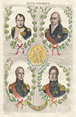 Portraits of Napoleon I and Marshals of the Empire - Money - Union et Force
