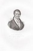 Porträt von François Broussais (1772-1838)