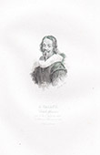 Portrait of Jacques Callot, French Printmaker and Draftsman (1592-1635)