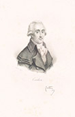Portrait of Georges Couthon (1755-1794)