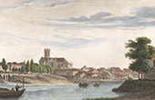 View of Meaux (Seine-et-Marne - France)