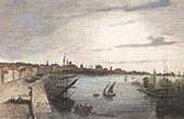 View of Nantes (Loire-Atlantique - France)