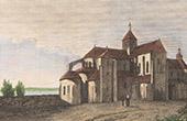 Fleury Abbey in Saint-Beno�t-sur-Loire (Loiret - France)