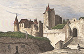 Castle of Luynes (Indre-et-Loire - France)