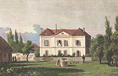 View of Rouge-Perriers - Dwelling Jacques Charles Dupont de l'Eure (Eure - France)