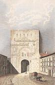Porte Noire  - Arc de triomphe Gallo-romain - Marc Aur�le - Besan�on (Doubs - France)