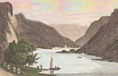 View of Nantua - Lake (Ain - France)