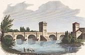 Arch of Germanicus - Bridge - Ancient Rome - Saintes (Charente-Maritime - France)