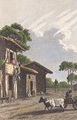 Habitation des Landes - Aquitaine (France)