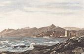 View of Bastia (Corsica - France)