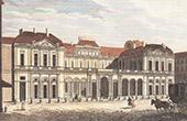 View of Palais-Royal in Paris (France)