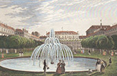 Gardens of the Palais Royal - Paris (France)