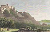 View of Corsica - Citadel of Corte (Haute-Corse - France)