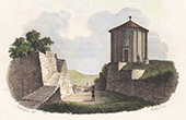 View of Grasse - Old Jupiter Temple - Provence-Alpes-C�te d'Azur (Alpes-Mar�times - France)