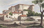 Castle of Gr�oux-les-Bains - Provence-Alpes-C�te d'Azur (Alpes-de-Haute-Provence - France)