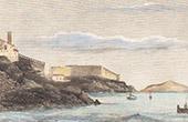 View of Bastia - The Citadel (Corsica - France)
