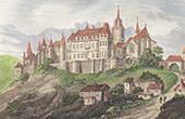 Joinville Castle - Ch�teau d'En Haut - Champagne-Ardenne (Haute-Marne - France)
