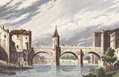 View of Bar-le-Duc - Notre-Dame Bridge (Meuse - France)