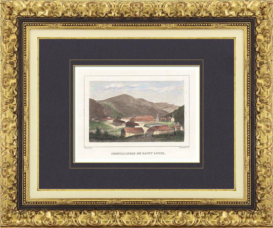 Antique prints prints of lorraine - Cristallerie de lorraine ...