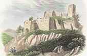 Saint-Ulrich Castle - Grand-Ribeaupierre - Ribeauvill� - Alsace (Haut-Rhin - France)