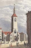 Former Church Saint-Epvre of Nancy (Meurthe-et-Moselle - France)