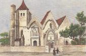 Pont-Sainte-Marie Church - Champagne-Ardenne (Aube - France)