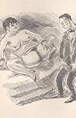 Erotic Print - Spoonerism - Elle Avait un Sale Con de Catin