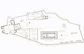 Architect's Drawing - Overall plan of Acropolis of Athens (Greece)