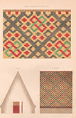 Architect's Drawing - Tiled Roof - La B�nisson-Dieu (Loire - France)