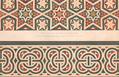 Architect's Drawing - Mosaic - Baptistery of Florence (Italy)