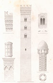 Architect's Drawing - Brick constructions  - Asti (Piedmont - Italy)