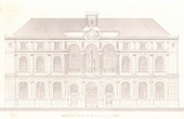 Architect's Drawing - City Hall (3th Arrondissement of Paris) - Facade