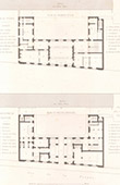 Architect's Drawing - City Hall (3th Arrondissement of Paris) - Plan of First floor