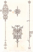 Architect's Drawing - Goldwork - Eucharistic Objects - Cross - Candlestick - Church - Cologne - Germany