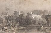 England - Mansion - Haddon Hall - Derbyshire (Great Britain - United Kingdom)
