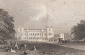 England - Grimsthorpe Castle - Lincolnshire (Great Britain - United Kingdom)