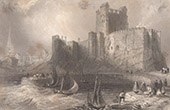Ireland - Carrickfergus Castle - Antrim - Belfast Lough