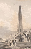 Ireland - Obelisk at Newtown-Park - County Dublin