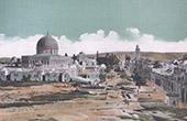 Jerusalem - Mosque of Umar - Holy Sepulchre (Israel)