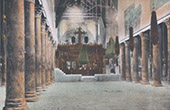 Bethlehem - Interior of the Church of the Nativity - West Bank (Palestine)