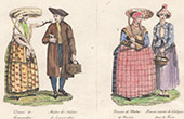Dutch Costume - Dutch Fashion - Frisia - Leeuwarden