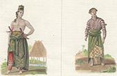 Javanese Costume - Java - Indonesia - Sarong - Mantri